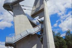 Aussichtsturm Kleeberg - Detailbild - Jahr 2002