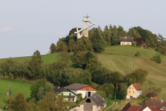 Aussichtsturm Kleeberg vom Westen Labuch - Jahr 2002